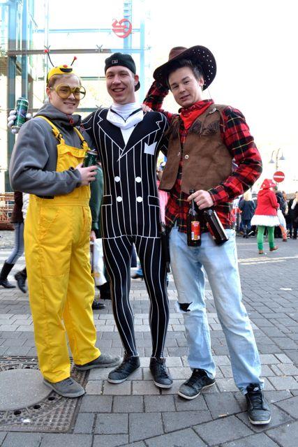The three guys