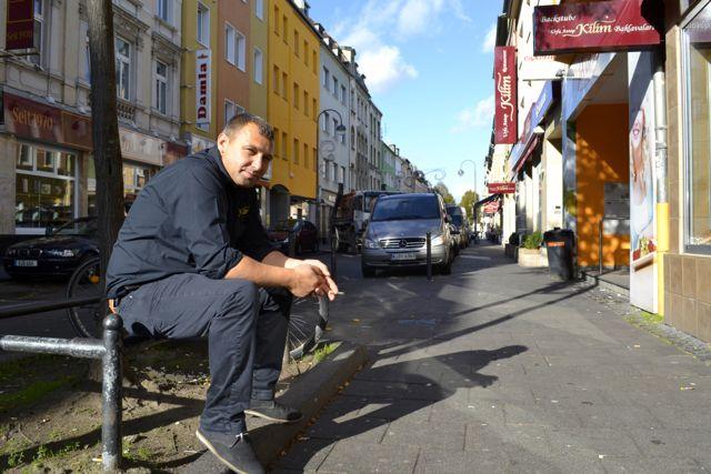A man on the street