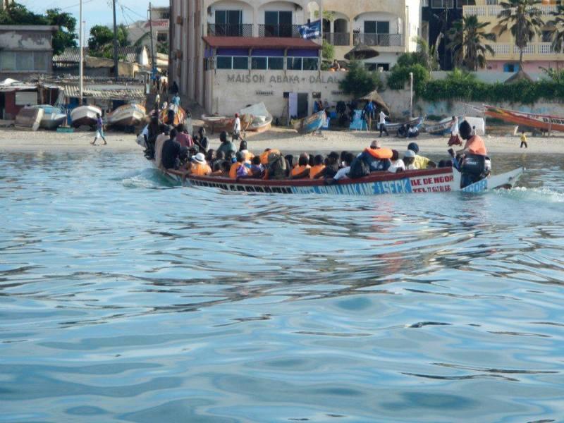 Raffaella Senegal mare barca