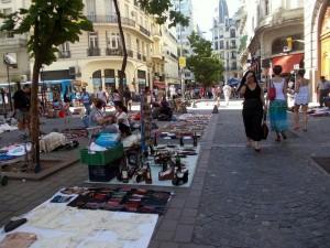 Parche a Buenos Aires - Avenida de  Mayo