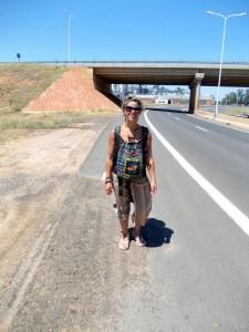in autostop verso il Brasile