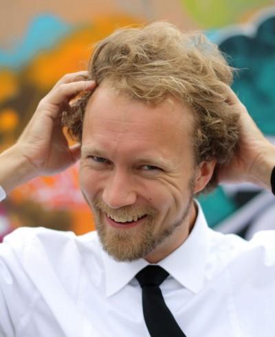 Edvard Lammervo messy hair