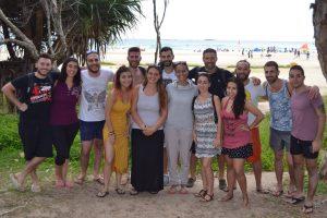 Team Brisbane - Gita a Strasbroke Island 2