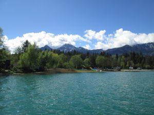 Quando il lago sembra un mare…questo è il Faakersee