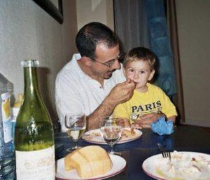 La prima cena a Parigi